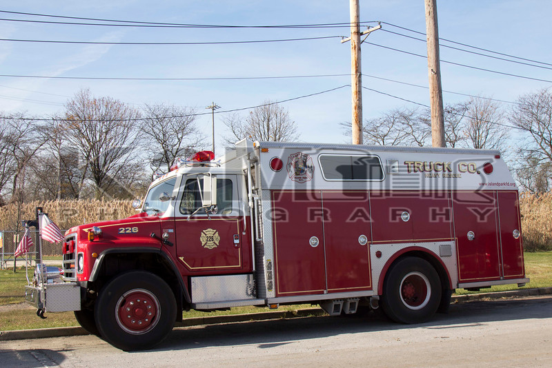 Island Park [former] Heavy Rescue 226.