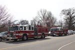 Lakeview fire apparatus at Halls Pond for the annual Easter egg hunt and photos with the Easter bunny hosted by the West Hempstead Lions Club [3-19-16].