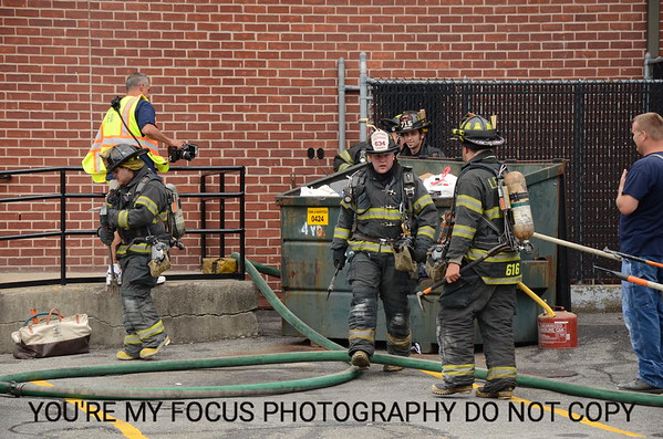 Building Fire At OTB 9-3-12