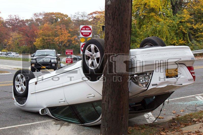 Friday, November 6th, 2015: The Malverne Fire Department operated on the scene of a motor vehicle accident with overturn on Franklin Avenue just north of the Southern State Parkway.  There was no entrapment.