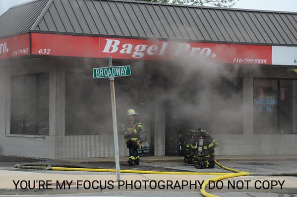 Bagel Pro Working Fire 7-15-12