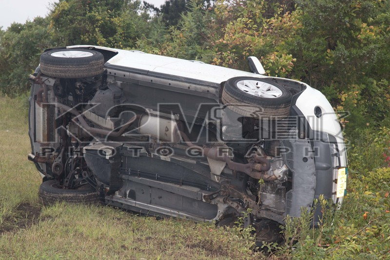 September 3rd, 2017: the Merrick Fire Department operated on the scene of a single vehicle accident with overturn.  There was no entrapment and one minor aided.  The accident was located on the ramp from the southbound Meadowbrook State Parkway to the Lido bound Loop Parkway.