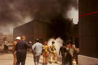 Milwaukee Area Firefighting Action