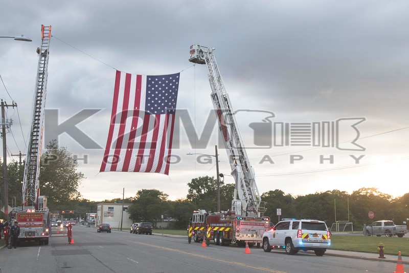 Thursday, June 6th, 2019: Department services were held at the Bellmore Funeral Home for North Bellmore Ex-Chief, former commissioner, and 58-year member Allen Walther.  Aside from being well involved with his department Allen was an instrumental part of the Nassau County Firefighters Museum.  A funeral was held the next day – June 7th.
