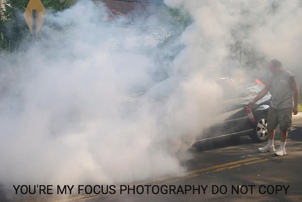 Southern State Car Fire