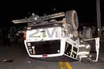 Sunday, August 23rd, 2015: The North Merrick Fire Department operated on the scene of a motor vehicle accident with overturn at the corner of Meadowbrook Road and James Street.  There was no entrapment.
