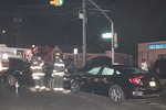 Monday, November 11th, 2019: The North Merrick Fire Department operated on the scene of a two-car accident at the intersection of Camp and Merrick Avenues.  A total of seven people were injured – four of them refusing medical attention/transport.  Ambulances were called from East Meadow, North Bellmore, and Bellmore-Merrick EMS to assist.  All fire department units were under the command of North Merrick Chief of Department Rob Presti [6700].