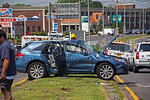 Monday, June 24th, 2013: the Rockville Centre Fire Department operated on the scene of a motor vehicle accident with multiple aided on Sunrise Highway close to the Lynbrook border.