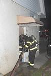 Saturday, September 19th, 2020: the Roosevelt Fire Department was called to smoke from the basement at a home on East Raymond Avenue off Cottage Place. When firefighters arrived on scene, they were met with smoke showing from a two-story private dwelling. Upon further investigation a small contents fire was found in a basement bathroom. One hand line was briefly operated off Engine 733.