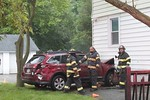 Friday, June 5th, 2020: the Uniondale Fire Department operated on the scene of a car versus house in the 800 block of Jerusalem Avenue. There was no entrapment, at least one person transported from the scene to an area hospital and minor structural damage.