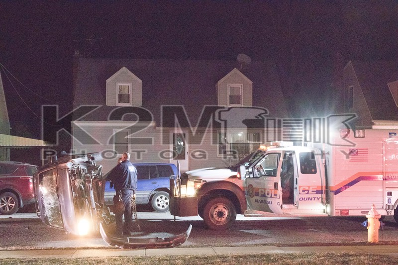 Friday, March 1st, 2019: the Uniondale Fire Department was called to a motor vehicle accident with entrapment at the intersection of Uniondale and Park Avenues.  When fire department units arrived on scene, they found no entrapment and that no fire department action was needed.  The scene was turned over to Nassau County Police.