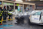Thursday, April 11th, 2013: Valley Stream firefighters operated on the scene of a car fire at 7-Eleven [83 Franklin Avenue].  There was no extension to the building.