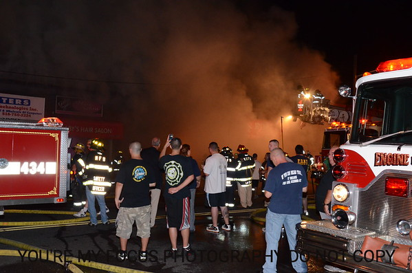 3rd Alarm West Merrick Rd. & Shaw Ave.(8-9-12)