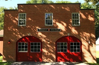 Mumford Fire Department Museum -1013 Main St - September 11, 2016