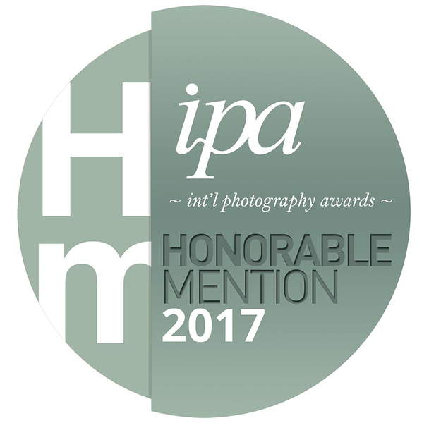 IPA 2017 Honorable Mention Medal  Presented to: BethAnne Lutz