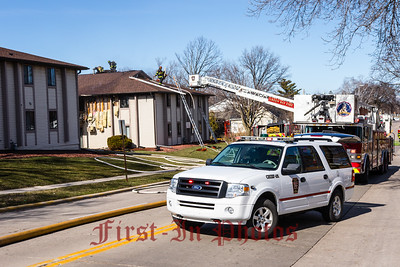 312 S Fisk Street Apartment Fire 3-19-16