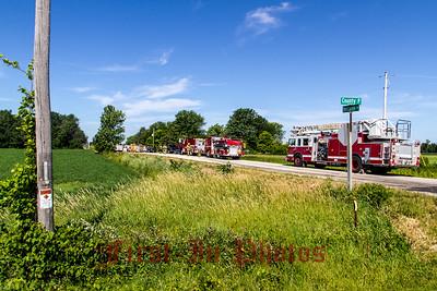 Van Lanen Rd House fire 7-23-14