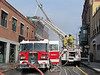 Gloucester Ladders 1 and 2 operating together on Pleasant St.