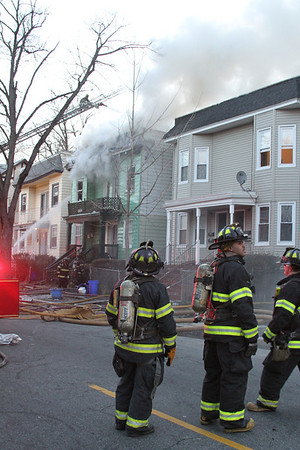 3rd Alarm East Orange NJ @310 Halsted ST 3/17/2013