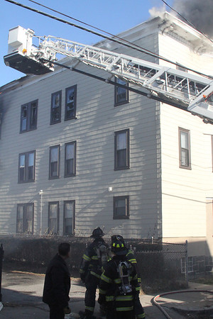 3rd Alarm Chelsea MA 150 Congress AVE 1/24/2013