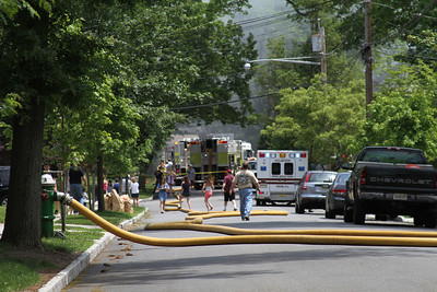 Verona NJ, 2nd alarm at 34 Morningside Ave. on 5-30-11