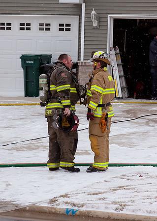 Howard Fire Dept. House Fire