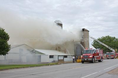 New Franken Barn Fire