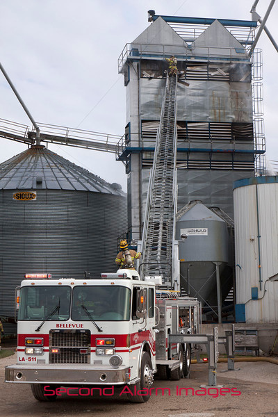 Denmark, WI Grain Dryer Fire 11-18-2011