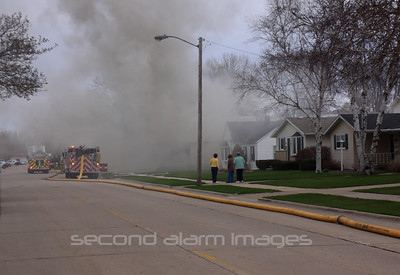 Green Bay Fire-1234 N Platten-05-03-2011