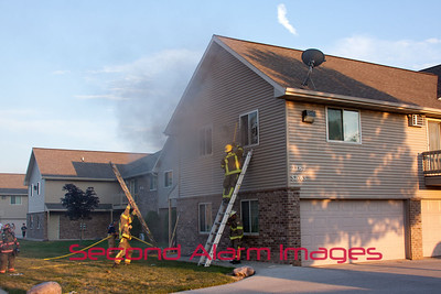 DePere,WI Apartment Fire 07-22-2012
