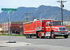 Colorado Springs Fire Department's Haz Mat Response Decon Unit, on the scene of a 4-alarm fire at Walter Drake Power Plant.