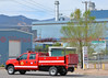 Colorado Springs FD Utility Truck responding to a 4-alarm fire at Martin Drake Power Plant.