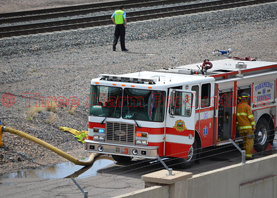 4-Alarm-Martin Drake Power Plant Fire Incident-CSFD