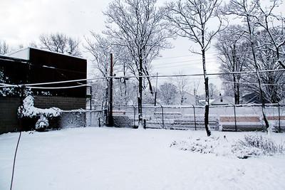 Snow on 2-4-09