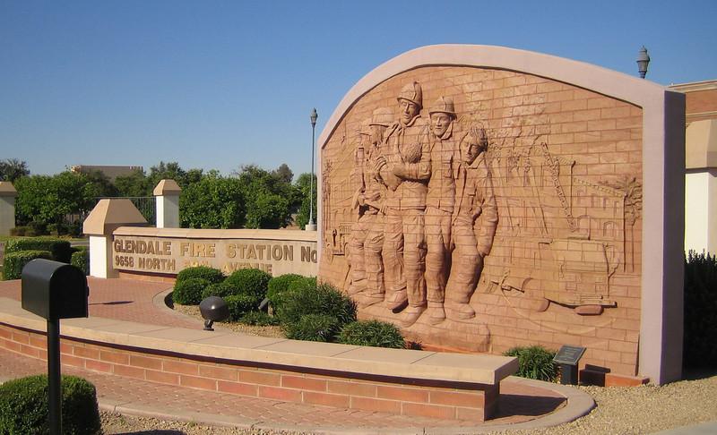 Glendale - Station 157 Monument