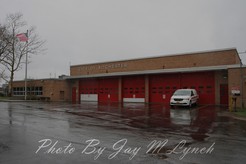 City of Rochester FD - Engine 13 Truck 10 ( EX Quint 8 and Midi 8 ) - 272 Allen St., City of Rochester. - Monroe County, New York. - April 23, 2014