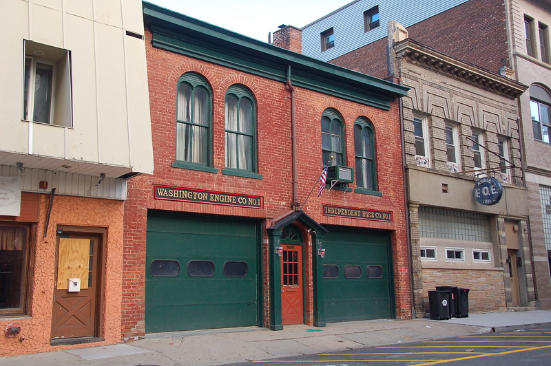 Morristown, 15 Market St. Former quarters of Washington Engine Co. 1 & Independent Hose Co. 1