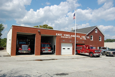 East Vineland Firehouse built in 1926 with latest addition in 1979
