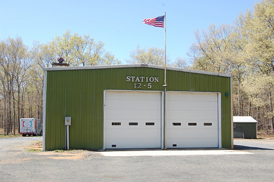 Estell Manor firehouse built in 1984