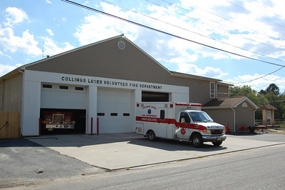 Collings Lakes Firehouse built in 1980