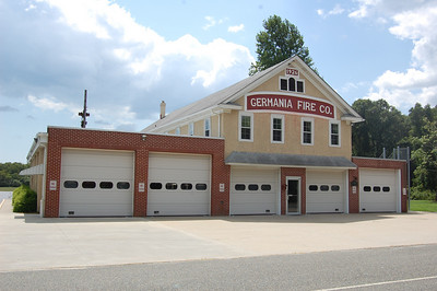 Germania Firehouse built in 1926 with additions in 1971 and later in 1987