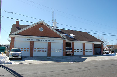 Stone Harbor Fire Station built in 1973