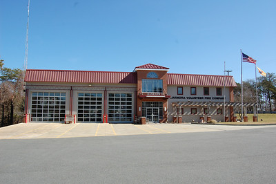 Marmora Fire Station built in 1980 with latest renovation in 2005