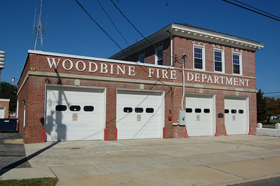 Woodbine Fire House built in 1903 with an addition in 1957