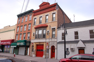 Jersey City FD Car 26 - The Gong Club - Former FDJC Fire Headquarters (1865-1933)