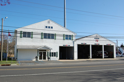 Mystic Island Fire Station