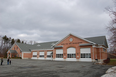 Sparta Fire HQ built in 2007