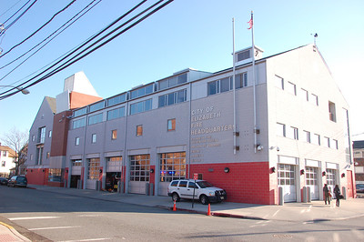 Elizabeth Fire Headquarters - Engine 7 - Ladder 1 - Rescue 1