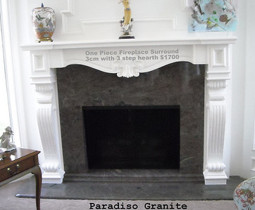Paradisio Fireplace