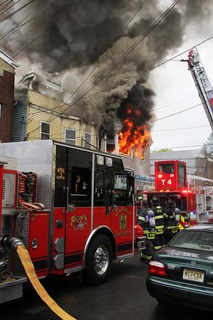 Garfield 3rd Alarm + Jewell Street 10-25-15
